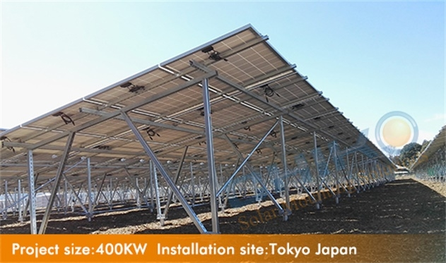 CHIKO Ground mounting U2V solar power projects in Tokyo Japan